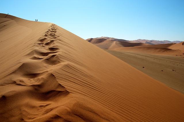 Dune, Namibia, Sossusvlei, Big Mama, Sand, Nature