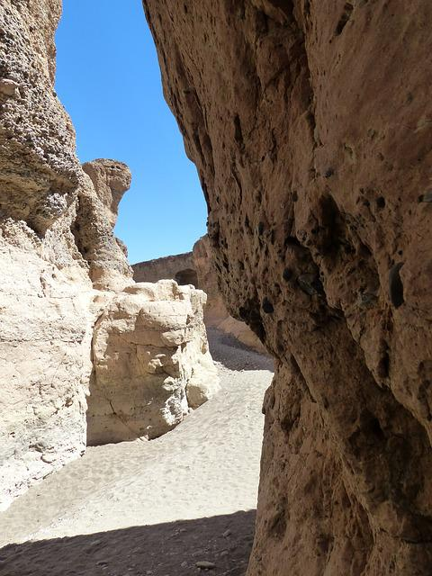 Sesriem, Gorge, Dry River, Namibia