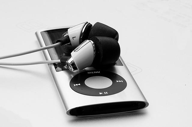 Ipod, Ipod Nano, Apple, Nano, Headphones, Mp3, Music