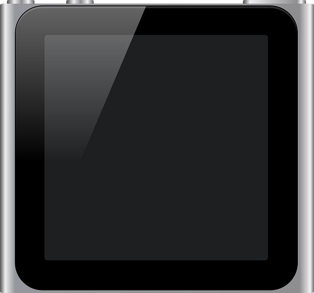 Apple, Mp3 Player, Ipod, Metal, Nano, Screen