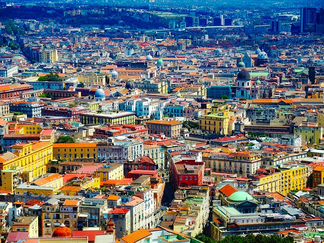 Naples, Italy, City, Urban, Colorful, Architecture