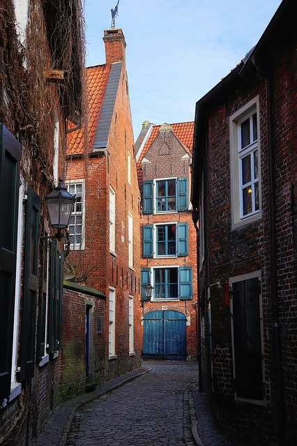 Alley, Old Town, Empty, Homes, Narrow Lane