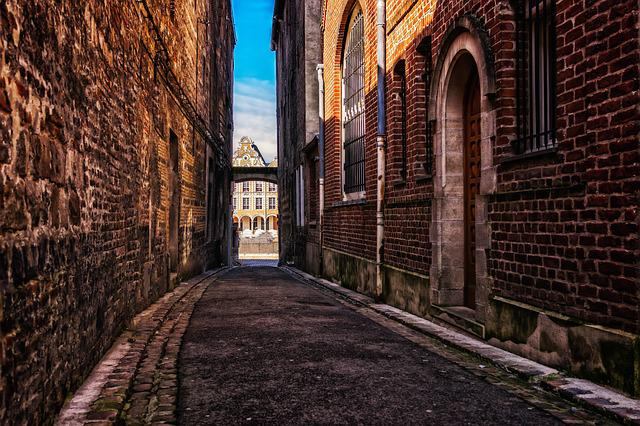 Alley, Road, Historic Center, Eng, Narrow, Old Roads