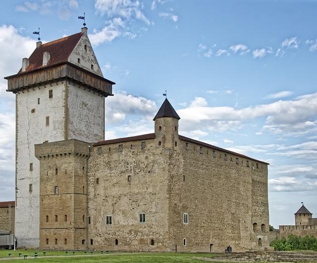 Estonia, Narva, Hermann Festivals, Castle, Fortress