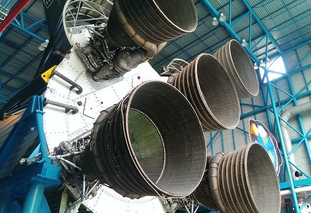 Kennedy Space Center, Nozzles, Rocket, Drive, Nasa