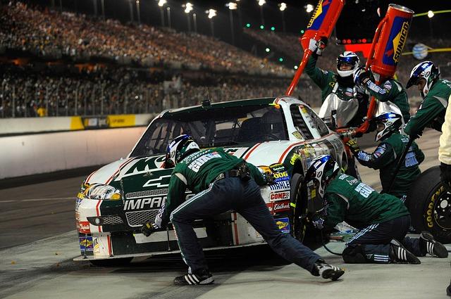 Pit Stop, Car Racing, Racing Car, Nascar, Auto