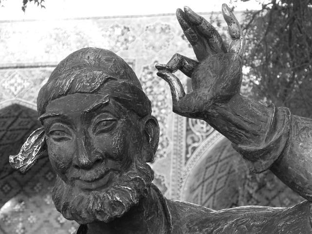 Nasreddin Hodja, Monument, Uzbek Till Eulenspiegel