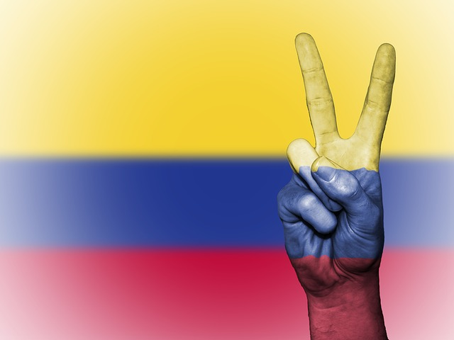 Columbia, Colombian, Nation, Background, Banner, Colors