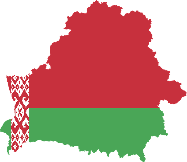 Belarus, Country, Europe, Flag, Borders, Map, Nation