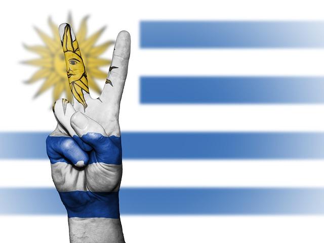 Free Photo Beach Coast Uruguayan Uruguay Flag Country Max Pixel - Uruguay flag