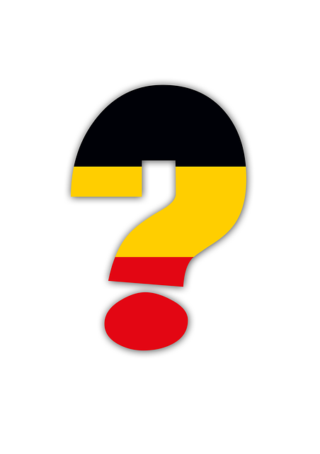 Question Mark, Germany, Em, World Cup, National Colours