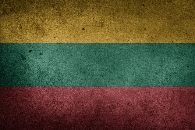Lithuania, Flag, Grunge, Europe, National Flag