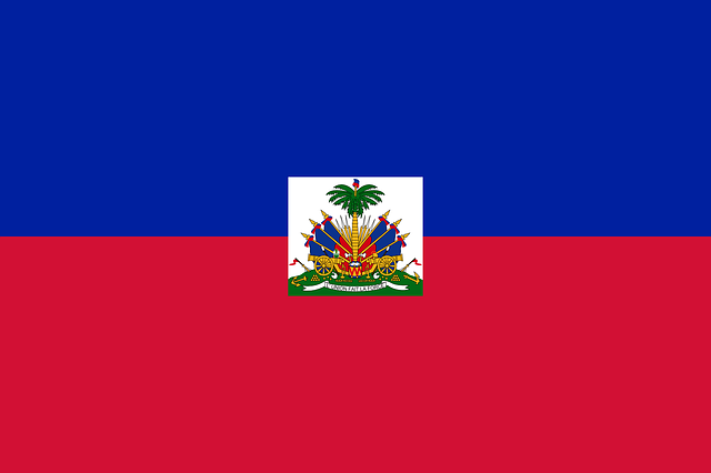 Haiti, Flag, National Flag, Nation, Country, Ensign