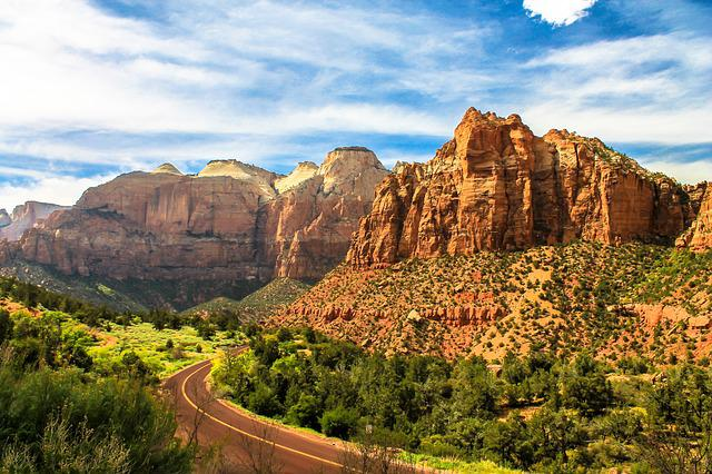Zion, Mountains, Utah, Park, Nature, National