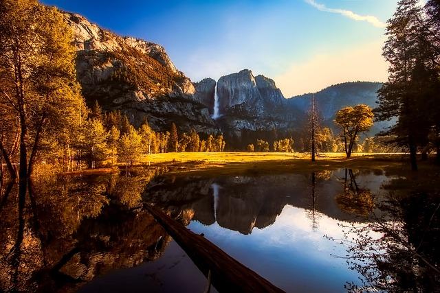 Yosemite, National Park, Valley, California, Mountains