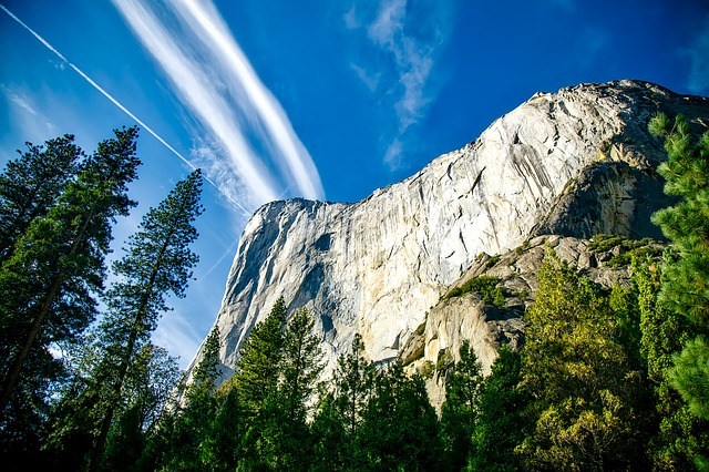 Yosemite, National Park, Landscape, Mountains, Cliff