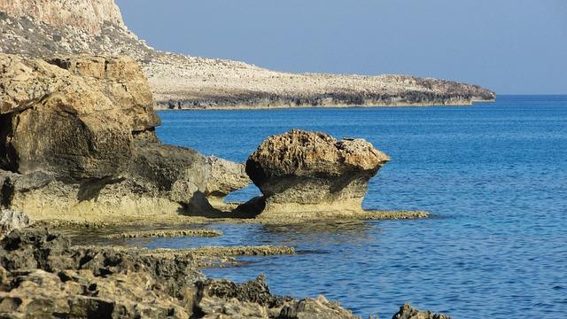 Cyprus, Cavo Greko, National Park, Rocky Coast