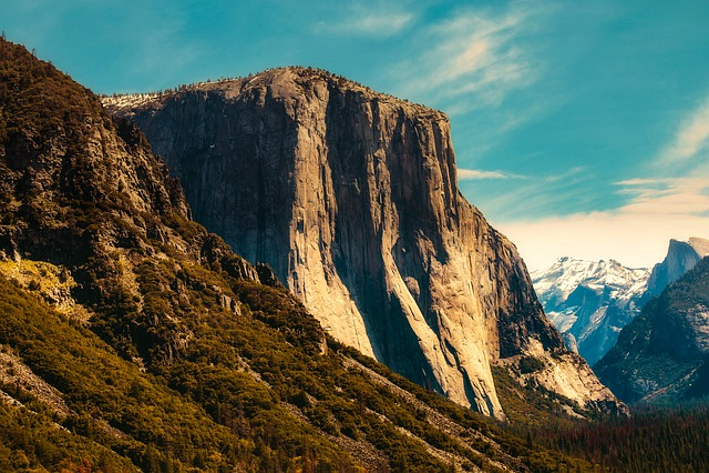 Yosemite, National Park, California, Mountains