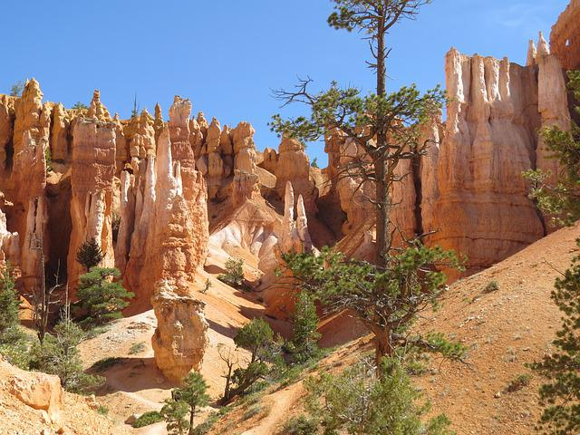Bryce Canyon, Utah, Red Sandstone, Geological, National