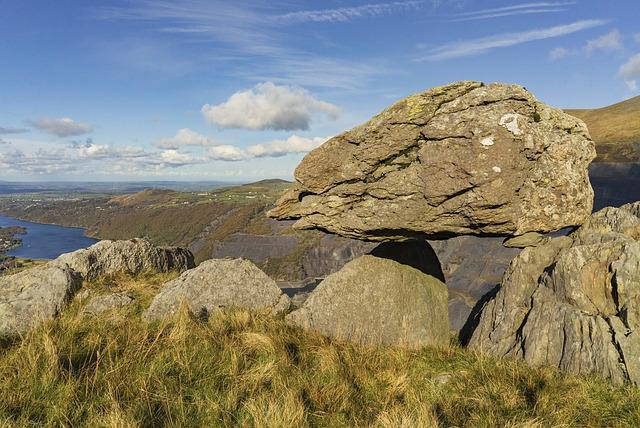 Llanberis, Wales, Snowdonia, Rocks, National, Landscape