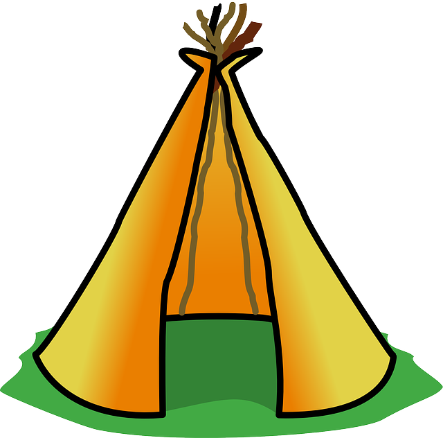 Teepee, Tipi, Tent, Indian, Native American, Building
