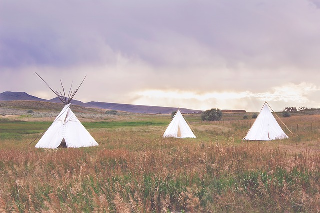 Teepee, Outdoors, Camping, Summer, Indian, Native