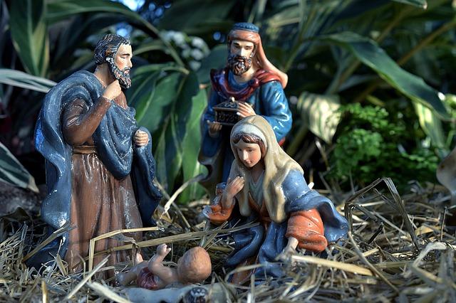 Nativity, Manger, Jesus, Baby, Christmas, Christ, Child