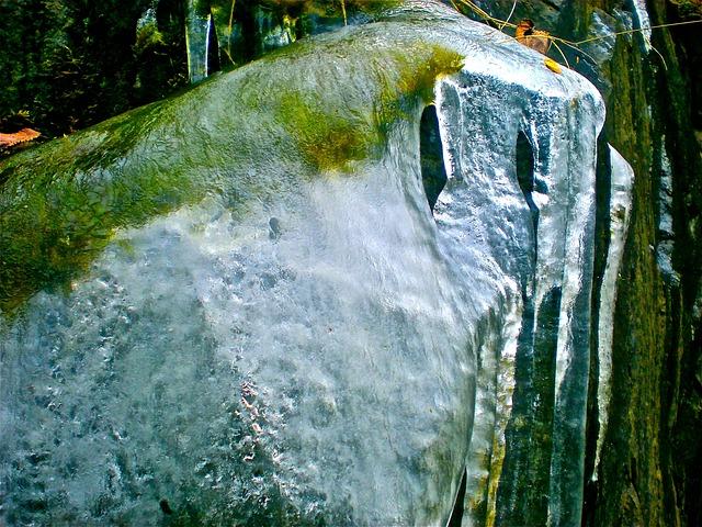 Ice, Natural Art, Winter