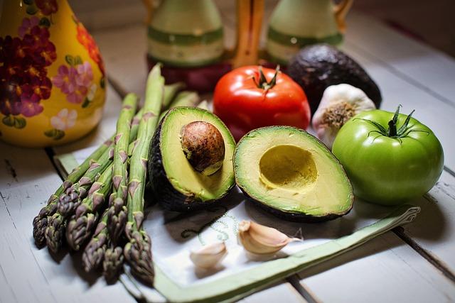 Vegetables, Avocado, Vegan, Veggies, Fresh, Natural