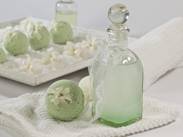 Bath Balls, Mint, Woodruff, Natural Cosmetics, Wellness