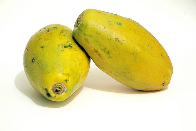 Papaya, Food, Fruit, Healthy, Diet, No Person, Natural