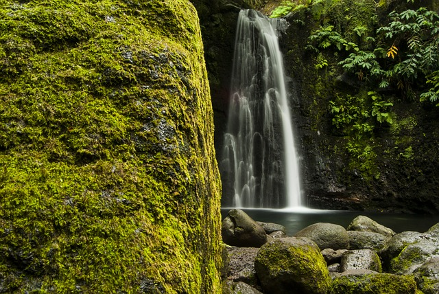 Natural, Landscape, Waterfall, Cascade, Nature