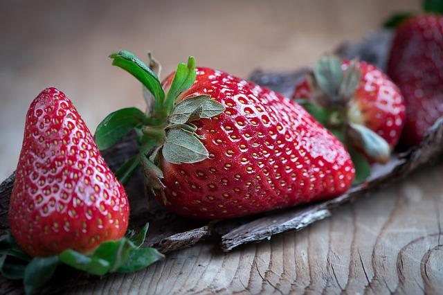 Strawberries, Red, Ripe, Of Course, Natural Product