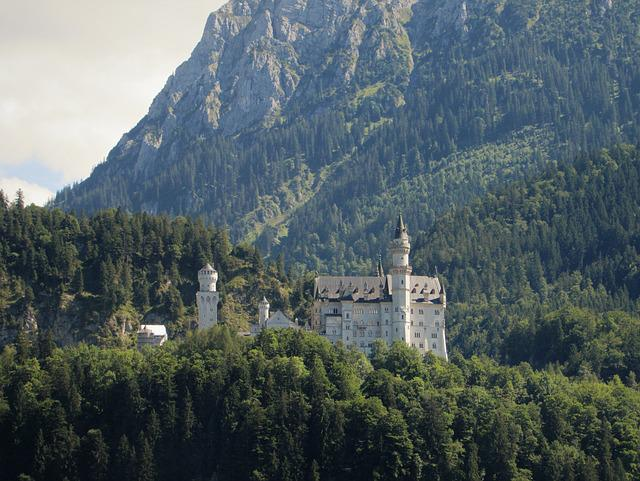 Mountain, Natural, Travel, Landscape, Castle