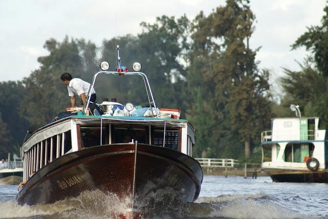 River, Water, Landscape, Nature, Argentine Delta, Boat