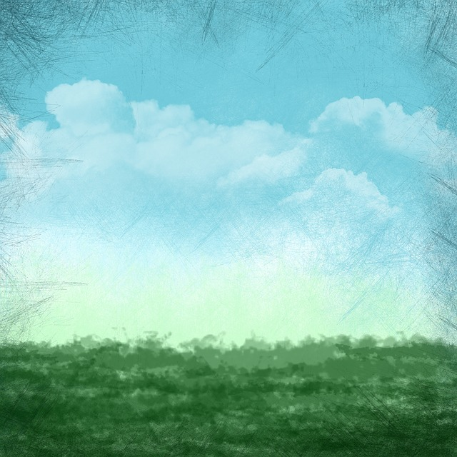 Background, Clouds, Air, Nature, Grass, Blue Skies