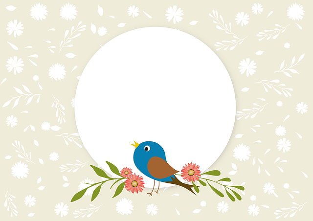 Spring, Bird, Nature, Songbird, Background
