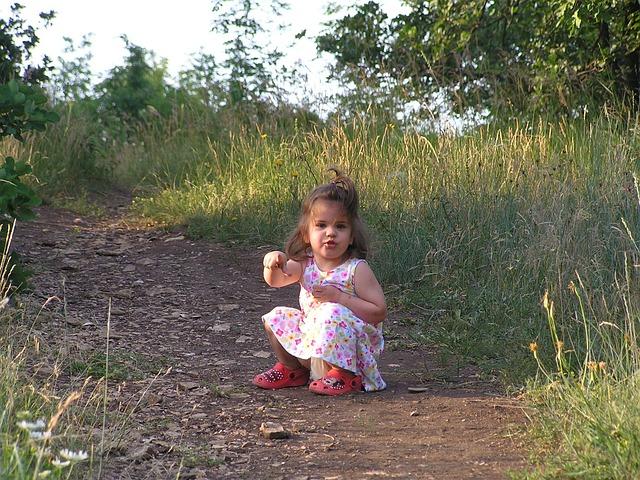 Balatonfüred, Little Girl, Nature