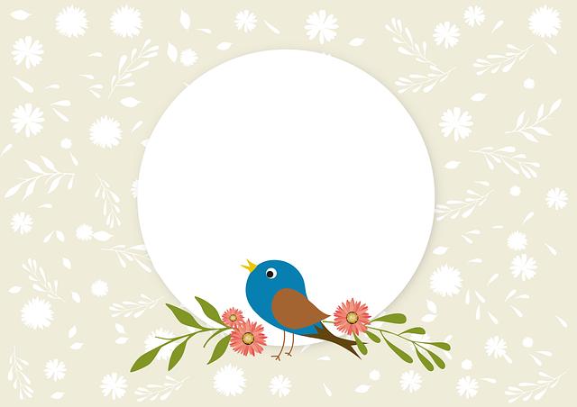 Spring, Bird, Nature, Songbird, Background