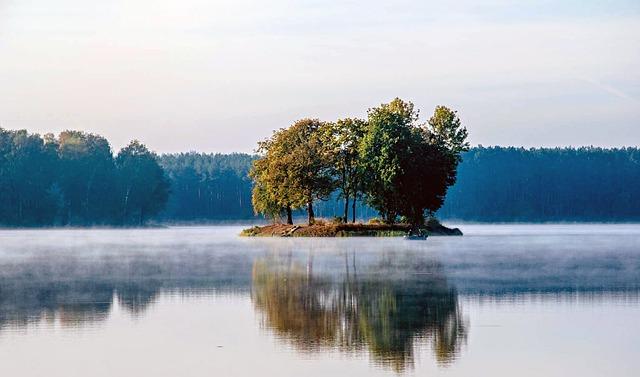 Sielpia, Water, Lake, Nature, Pond, Lagoon, Boat