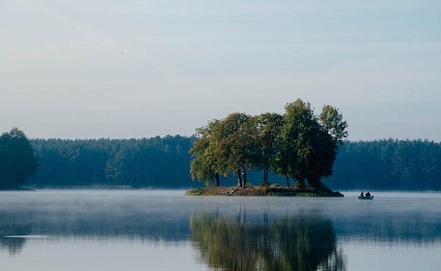 Water, The Fishermen, Island, Boat, Landscape, Nature