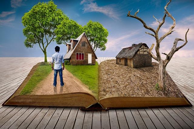 Tree, Wood-fibre Boards, Nature, Sky, Landscape, Book