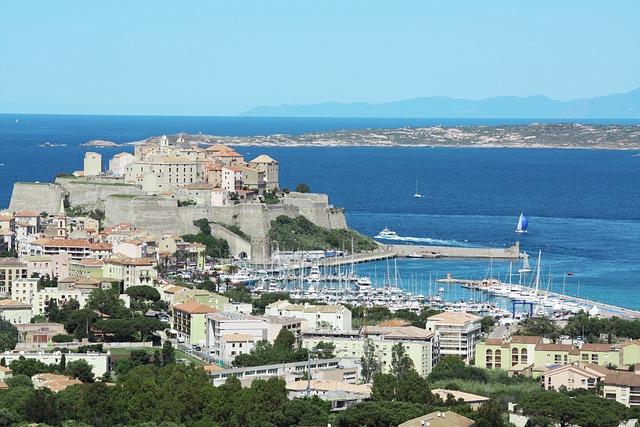 Calvi, Corsican, France, Sea, Nature