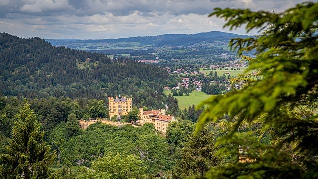 Castle, Landmark, Nature