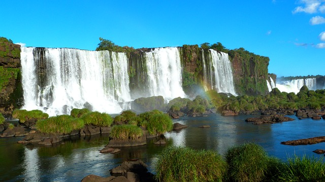 Iguazu Falls, Cataracts, Brazil, Nature