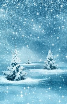Christmas, New Year, Background, Winter, Nature, Forest
