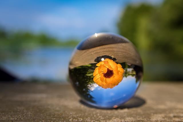 Glass Ball, Nature, Clear