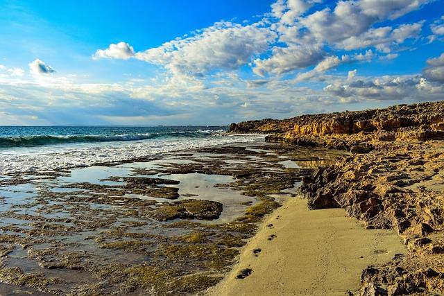 Rocky Coast, Beach, Sea, Nature, Landscape, Coast, Sky