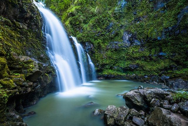 Creek, Fall, Hd Wallpaper, Nature, Plants, Rocks
