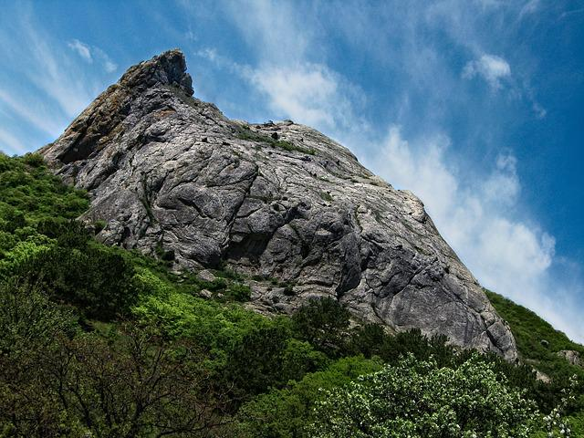 Crimea, Mountain, Sky, Landscape, Nature